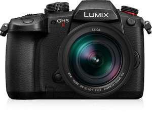 Kit appareil photo numérique hybride Panasonic Lumix DC-GH5 II (20.33 Mpix, Live MOS) + objtectif Leica 12-60mm