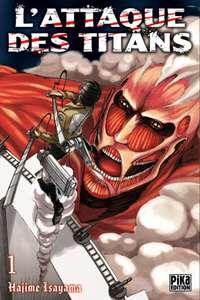 Sélection de mangas L'Attaque Des Titans à 1,99€ - Tomes 1 à 8 (dématérialisés)