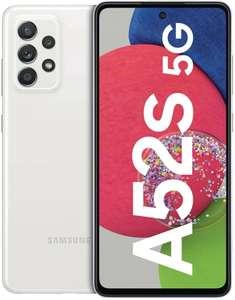 """Smartphone 6.5"""" Samsung Galaxy A52s 5G - full HD+, SnapDragon 778G, 6 Go de RAM, 128 Go, blanc (entrepôt France)"""