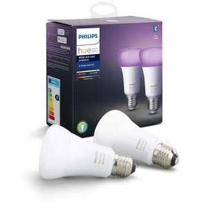 Pack de 2 ampoules Philips hue White & Color Ambiance E27