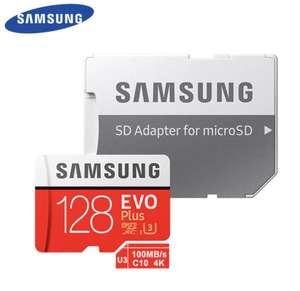 [Nouveaux clients] Carte micro SDXC Samsung Evo Plus - 128 Go