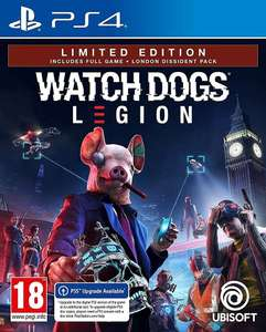 Watch Dogs Legion Limited Edition sur PS4