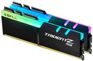 Kit de RAM G.Skill Trident Z RGB DDR4-4000 CL18 - 32 Go (2x16)