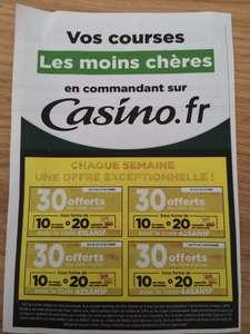 10€ de réduction et 20€ crédités sur le compte-fidélité dès 100€ d'achat - pendant 4 semaines