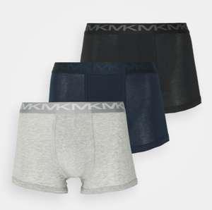 Lot de 3 Boxers Michael Kors Stretch Factor Core Trunk - Tailles au choix