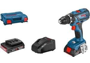 Perceuse-visseuse GSR 18V-28 + 2 Batteries + L-case + chargeur Gal 18V-20 (Via Coupon de 15€)