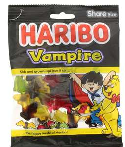 Sachet de Bonbons Vampire Haribo (175 g)