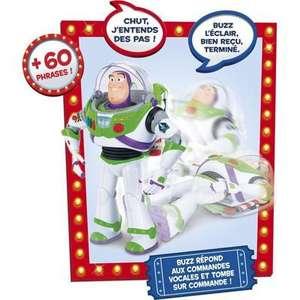 Figurine interactive Lansay Toy Story 4 Buzz l'éclair avec fonction Incroyable - 30cm