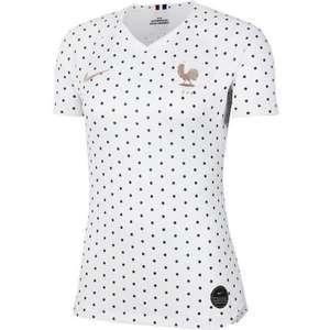 Maillot de Football NIKE - pour Femme, Blanc, Taille L