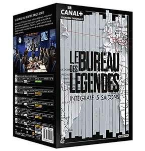 Coffret de 20 DVD Le Bureau des légendes - Saisons 1 à 5