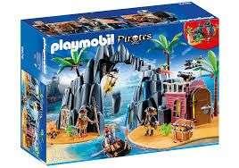 Jouet Playmobil - Repaire des Pirates des Ténèbres (6679)