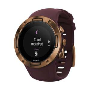Montre connectée GPS Suunto 5 - Burgundy Copper (Frontaliers Suisse)