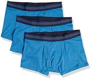 Lot de 3 boxers Amazon Goodthreads - bleu (taille 48-50)