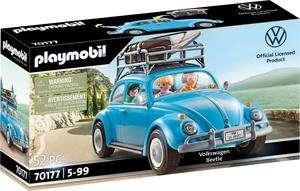 Sélection de Jouets Playmobil en promotion - Ex : Volkswagen Coccinelle 70177 (via 5€ sur la carte de fidélité)