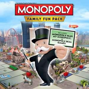 Monopoly Family Fun Pack sur PS4 (Dématérialisé)