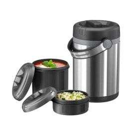 Lunch box Tefal isotherme avec deux compartiments alimentaires - 1.7 litres