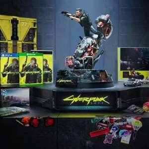 Cyberpunk 2077 sur PS4/PS5 Édition collector (Jeu + Artbook + B.O. + Figurine + Contenus numériques)