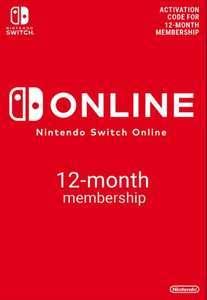 12% de réduction sur tout le site - Ex : Abonnement de 12 Mois au Nintendo Switch Online Individuel à 14,90€ (Dématérialisé)