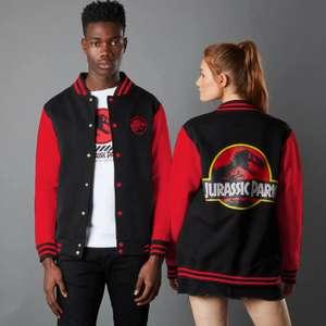 Veste Teddy Jurassic + T-Shirt Park Primal Park Ranger - Noir/Rouge (Taxes et frais de douane inclus)