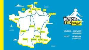 Entrée au Trampoline park - Ex: Entrée 1h Solo Lille (+ Boisson)