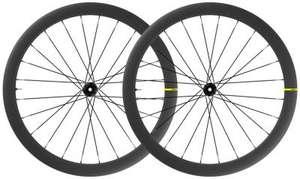 Lot de 2 roues pour vélo de route Mavic Cosmic SL 45 Disc 2021