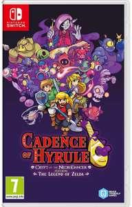 Jeu Cadence of Hyrule - Crypt of the NecroDancer Featuring The Legend of Zelda sur Nintendo Switch