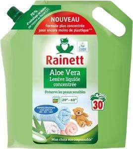 Poche de Lessive liquide concentrée Rainett - 1,5l