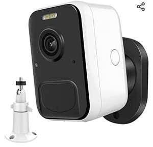 Caméra Surveillance WiFi Exterieure MPW - 1080P, IP65, Vision Nocturne,Audio Bidirectionnel (Via coupon - Vendeur tiers)