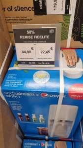 Machine à gazéifier Sodastream Spirit Coffret découverte Pepsi (Via 22.45€ sur la carte fidélité) - Drancy (93)