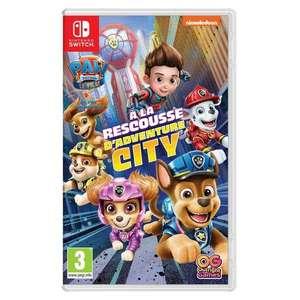 Jeu Pat' Patrouille : À la rescousse d'Adventure City sur Nintendo Switch