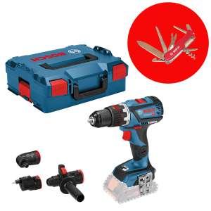 Visseuse sans-fil Bosch GSR 18V-60 FC Professional + coffret L-Boxx + accessoires - sans batterie, ni chargeur
