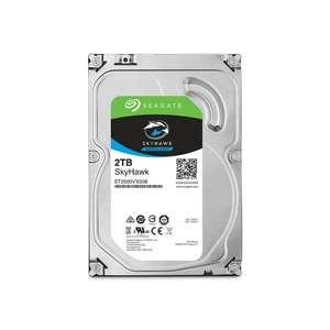 """Disque dur interne 3.5"""" Seagate SkyHawk 2 To - 7200 tr/min, CMR, 64 Mo cache (ST2000VX008)"""