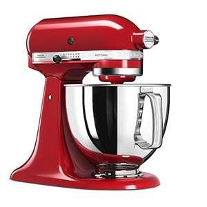 Robot pâtissier Kitchenaid Artisan 5KSM125EER - 300W, Rouge Empire (+ autres couleurs)