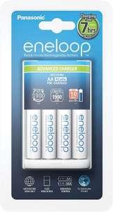 Chargeur de piles intelligent Panasonic + 4 piles AA Eneloop
