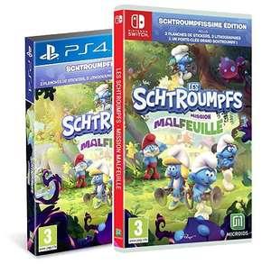 [Précommande] Les Schtroumpfs Mission Malfeuille - Edition Schtroumphissime sur Nintendo Switch / PS4