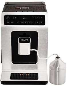 Machine à café automatique avec mousseur à lait Krups Evidence EA891D10