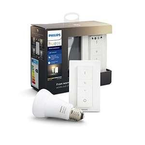 Kit Philips Hue White Ambiance Ampoule E27 avec télécommande