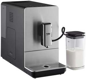 Machine à expresso automatique avec broyeur à grains Beko Bean To Cup Coffee CEG5331X - 1350 W, argent