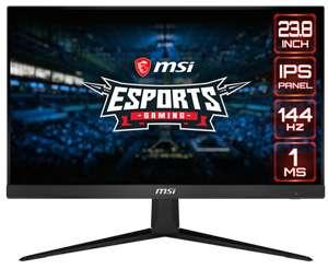 "Ecran PC gaming 23.8"" MSI Optix G241 - Full HD, Dalle IPS, 144 Hz, 1 ms, FreeSync"