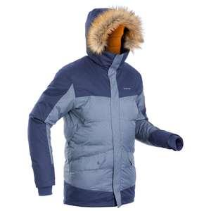 Veste parka Quechua SH500 X-Warm - bleu (du S au 3XL) Femme et Homme