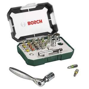 Ensemble Bosch 2607017322 - 26 Embouts de Vissage + Cliquet