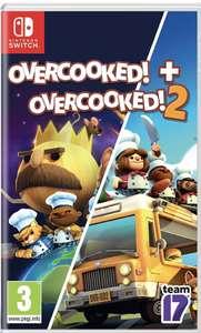Jeu Overcooked 1 et 2 sur Nintendo Switch