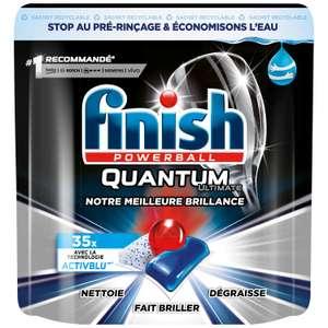 2 paquets de 35 Tablettes lave-vaisselle Finish Quantum 3 en 1 (2 x 35)