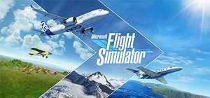 Jeu Microsoft Flight Simulator 2020 sur PC (Dématérialisé)