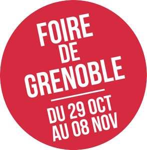 2 invitations gratuites pour la Foire de Grenoble (38) du 29/10 au 08/11