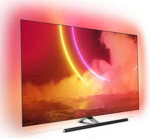 """TV OLED 55"""" Philips 55OLED865 - 4K, Ambilight 3 canaux, 100 Hz, Android TV, HDR 10+ (Frontaliers Suisse)"""