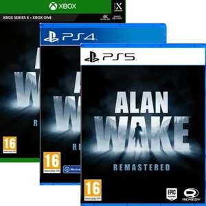 Alan Wake: Remastered sur PS4, PS5, Xbox One ou Xbox Series X