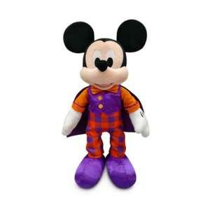 Peluche Disney Store Mickey ou Minnie Halloween - 40x18x15 cm