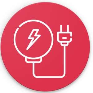 Sélection d'applications offertes sur Android - Ex : Application Bubbles Battery Indicator