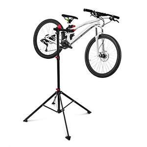 Pied d'atelier pour réparation vélo Relaxdays - 30 kg max, 105 -190 cm (vendeur tiers)